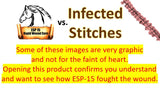 ESP-15 Vs... Infected Stitches (Graphic Photos)