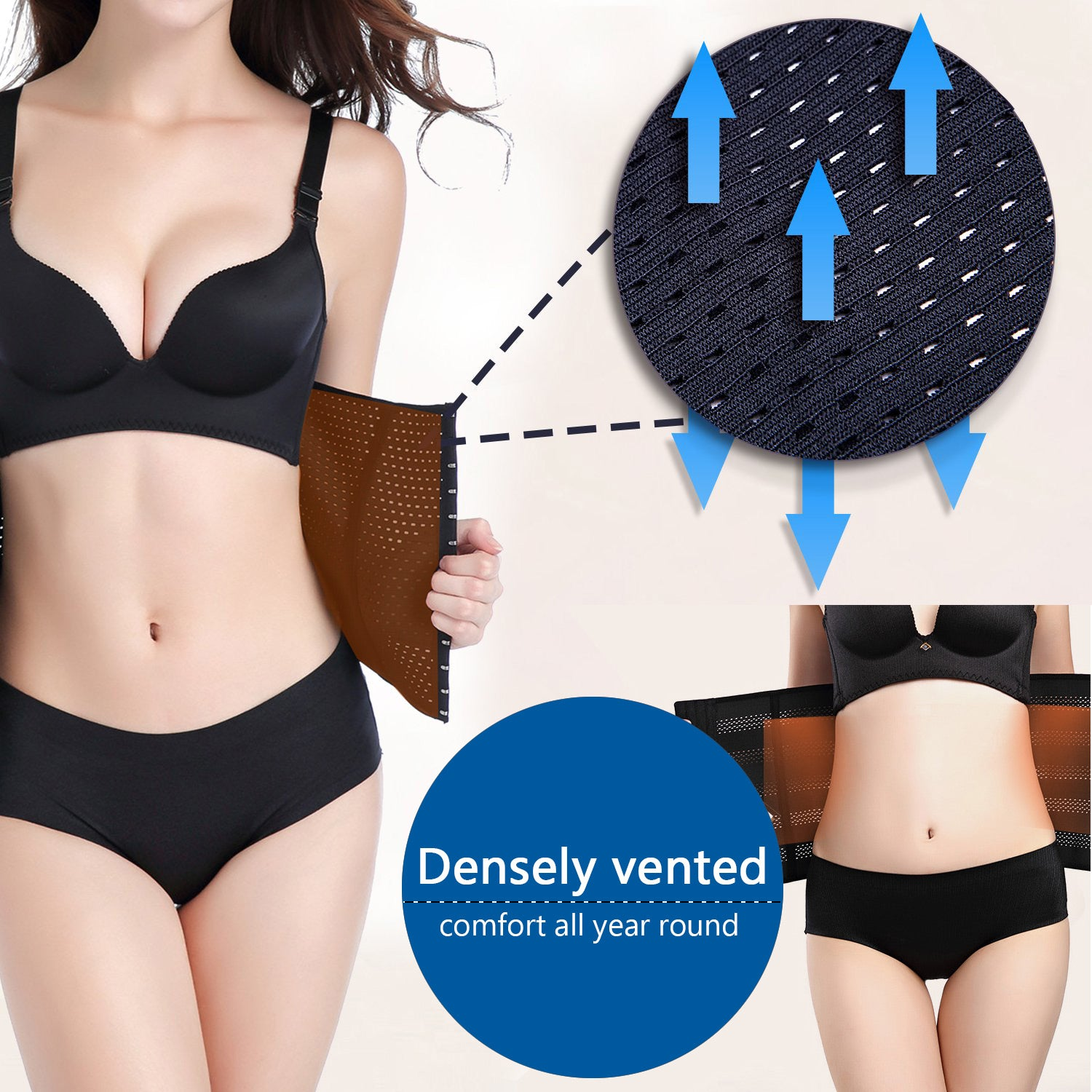 d545490a016 BILYCAT Waist Trainer Corset for Weight Loss Fat Burner Tummy Control Sport  Workout Body Shaper for