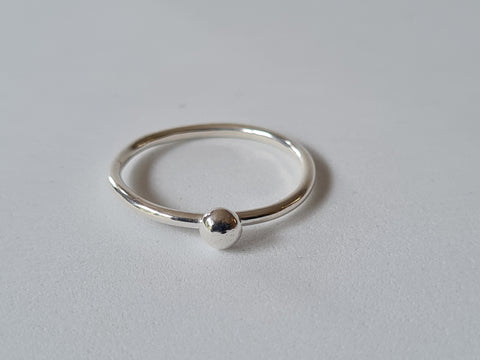 Round Stacker Ring