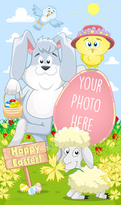 Easter Bunny Mega Card