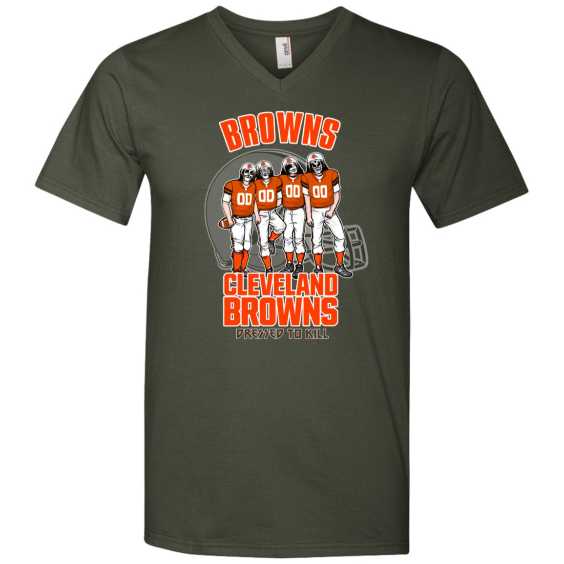 Cleveland Browns Kiss Dressed To Kill T Shirt