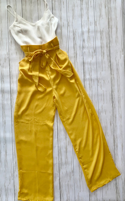 Classic Jumpsuit in Yellow