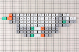 MelGeek MDA Big Bang 1.1 Ortholinear Keycaps Set Custom Mechanical Keyboard Keycaps| MelGeek.com - MelGeek
