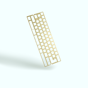 MelGeek Brass 60% Keyboard Plate|melgeek.com