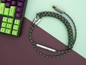 MelGeek Handmade Custom  Sleeved USB Cable Themed Type-C Mini Micro USB  Cable |melgeek.com