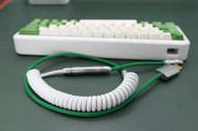 Load image into Gallery viewer, MelGeek Handmade Custom Sleeved Coil USB Cable Keycap Theme Cable