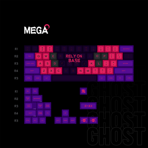 【GB ENDS】MelGeek MG Ghost ABS Doubleshot  Custom Keycap Set