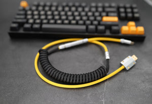 MelGeek Handmade Custom  Sleeved USB Cable Themed USB C TYPE C Cable - MelGeek