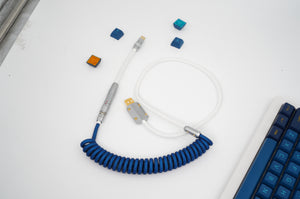 MelGeek Handmade Coiled USB Cable with Aviator |melgeek.com