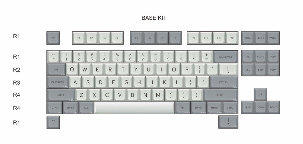 MelGeek MDA Big Bone Custom Keycap Set|Melgeek.com - MelGeek