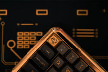 Load image into Gallery viewer, MelGeek Mojo60 Brass Mechanical Keyboard Case 60% Keyboard Chasis| melgeek.com