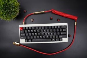 MelGeek Handmade Rubber  USB Cable with Aviator Type-C Mini USB  Cable |melgeek.com