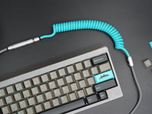 Load image into Gallery viewer, MelGeek Handmade Custom Coiled USB Cable with Aviator