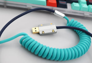 MelGeek Handmade Custom  Sleeved USB Cable Themed Cable