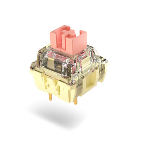 MelGeek TTC Gold Pink / Blueish Whtie Mechanical Switches|melgeek.com