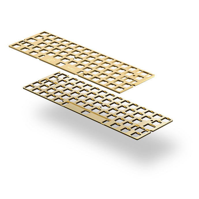 MelGeek Brass 60% Keyboard Plate