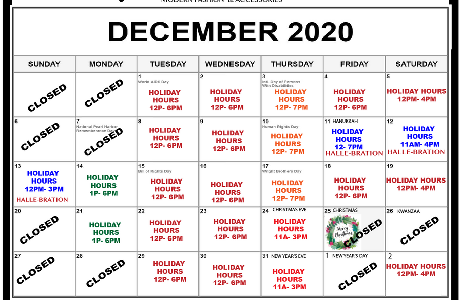 Hello December, Good Bye 2020