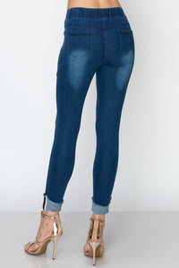 LA Style, Denim Jegging Pants