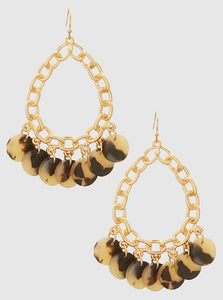 Stylish LeNese Acetate Earrings
