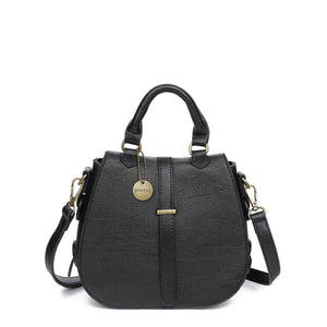 Carli Crossbody Vegan Leather Handbag