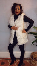 Load image into Gallery viewer, Faux Fur Winter White Vest