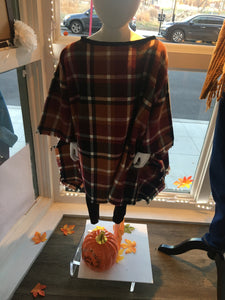 Custom Design LeNese Poncho- KIDS