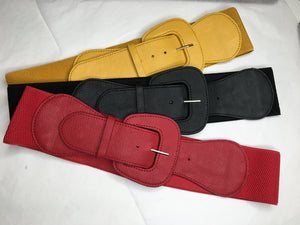 Stylish LeNese Stretch Belts