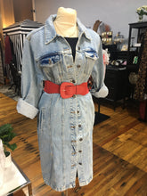 Load image into Gallery viewer, Janet, Long Denim Dress Jacket