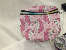 Load image into Gallery viewer, Unicorn Waist Belt Bag Fanny pack - kids