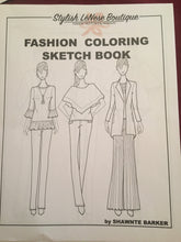 Load image into Gallery viewer, Fashion Coloring Book - Printed Copy
