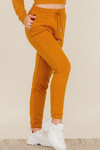 Bora Pant, Fleece Drawstring Sweat Pant w/ Pockets