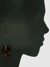Load image into Gallery viewer, Acetate Tropical Leaves Tree Of Life Dangle Drop Earwire Earrings