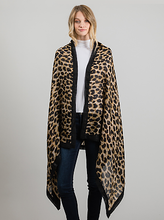 Load image into Gallery viewer, Stylish LeNese Leopard Print Oversize Scarf