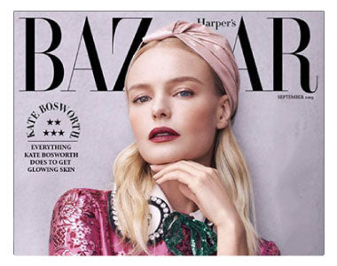 Harpers Bazaar September 2019 Dr. Nigma Talib Kate Bosworth