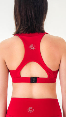 HEART RHYTHM SPORTS BRA - Gymance
