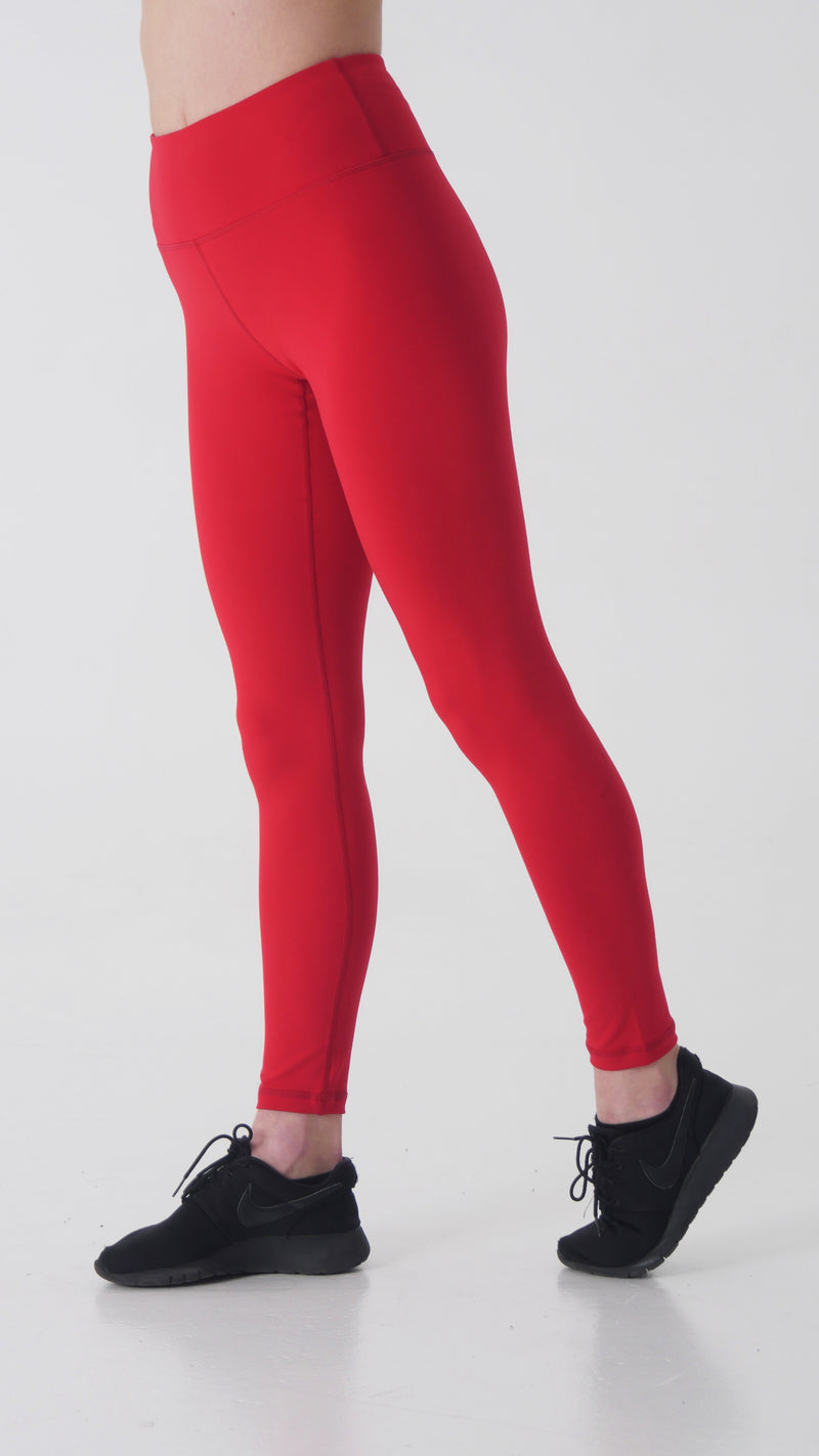 HEART BEAT LEGGINGS -HIGH WAISTED - Gymance