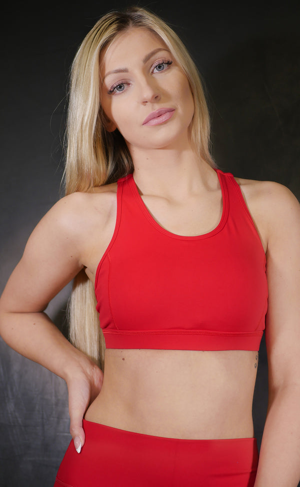 HEART LOVE SPORTS BRA - Gymance