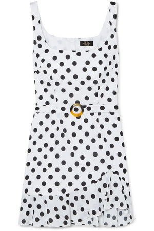 De La Vali Polka Dot Christabel Mini Dress - RRP £265