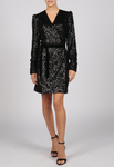 Essentiel Antwerp Vormation Sequin Mini Dress