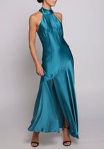 De La Vali Blue Vivienne Dress
