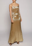 De La Vali Gold Pepe Dress