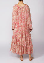 Free People Feeling Groovy Red Printed Maxi Dress - RRP £158