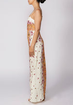 Free People Morning Song Cream Printed Maxi