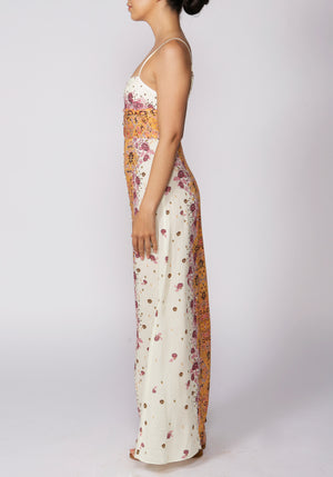 Free People Morning Song Cream Printed Maxi - RRP £98