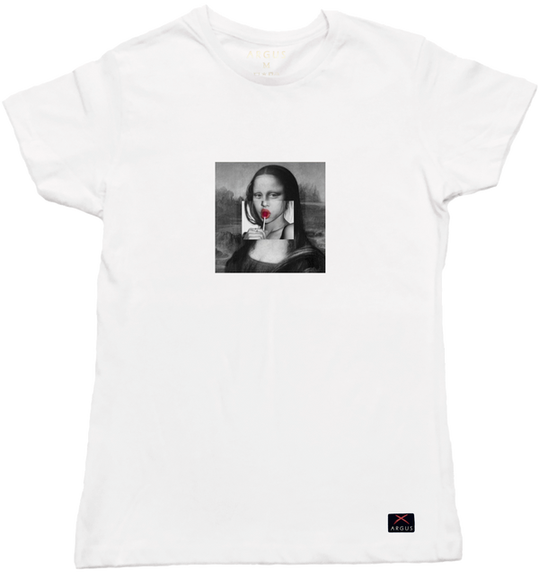 Don´t Pop My Lisa t-shirt mujer