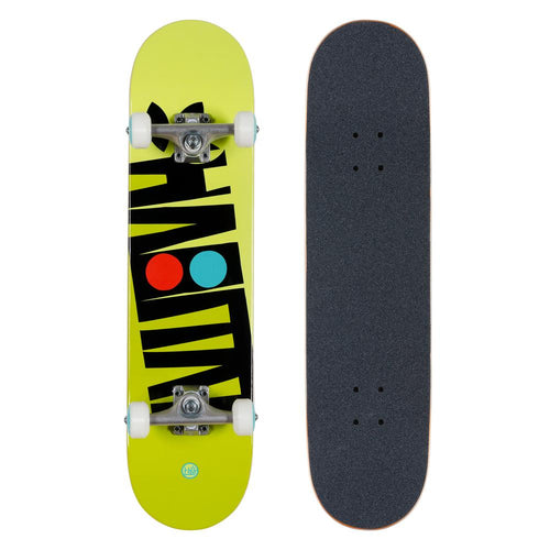 Habitat Skateboards - Artisan Apex Complete Yellow - 7.5