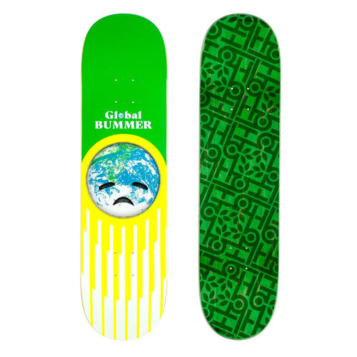 Habitat Skateboards - Global Bummer Deck Green - 8.25
