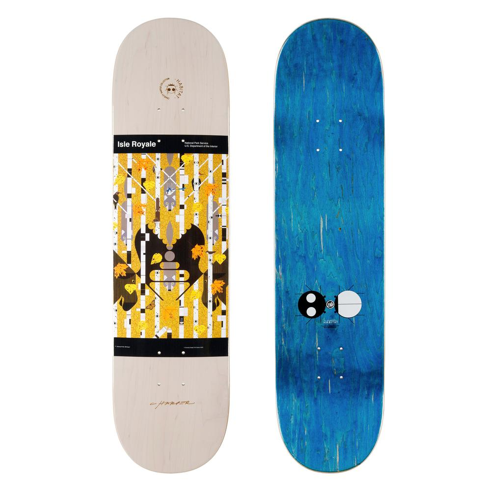 Habitat Skateboards - Harper Royale Deck - 8