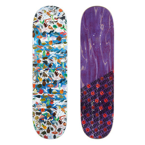 Habitat Skateboards - Harper Tree Of Life Deck - 8.375