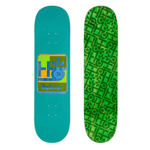 Habitat Skateboards - Mod Pod Deck Green - 8.25